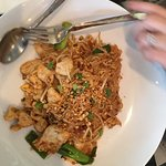 Excellent food. Pad Thai and Spicy Chicken