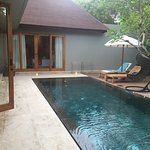 The private pool.