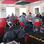 Moab Diner - seating area
