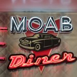 Moab Diner - neat sign
