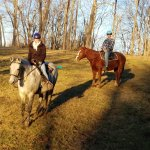 Riding horses at First Farm inn is unlike anywhere else you've ridden.  You learn how horses thi