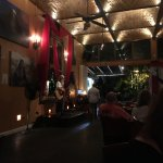 The evening entertainment at the River Cafe