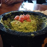 Guacamole made at the table!