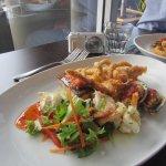 Seafood plate main
