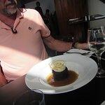 Sticky date pudding dessert
