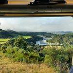 View on the Tranzalpine Train Christchurch to Greymouth