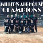Mills Pond Friday Night Corporate Co-ed D2 Season & Playoff Champs Millers Ale House,  Fort Laud