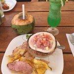 Coco Loco and Rainforest Drinks and Mahi Tahi Sandia!