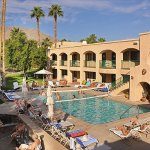 Chaparral Hotel and Volleyball Pool