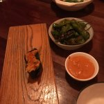 Shishito peppers and toro.