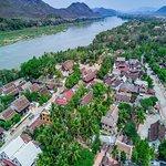 Khoum Xieng Thong and Mekong river