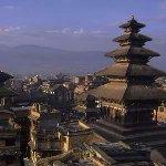 The five storey Temple: Nyatapola, Bhaktapur Durbar Square, Nepal