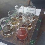 Demolished beer flight. Avoid the stupid sours.