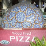 Pizza oven from the street