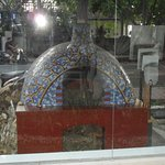 Pizza oven from inside the restaurant