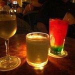 drinks at the lobby bar