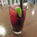 Raspberry Mojito, Mrs. Knott's Chicken Dinner, Buena Park, CA