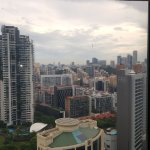 View from lounge 27th floor