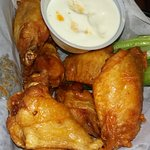 Wings...hot and juicy