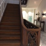 Stunning historical stairs