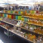 no,not shampoo, but alcoholic beverages, Campo de' Fiori