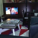 Tete a Tete Lounge, private butler, TV, AC. Entertain  valued guests in this lounge within the c