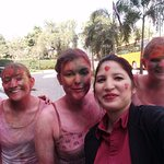 Holi with German Group and Hotel Staff
