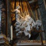 Verzückung der Heiligen Theresa Foto