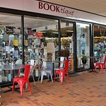 Booktique Merimbula - sit outside or in