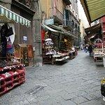 Via San Gregorio Armeno Foto