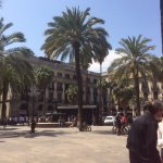 Placa Reial- lovely place.
