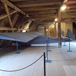 Hard to believe that the glider was built in such a small space.  The reconstruction actually FL