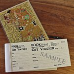 GIft vouchers available for books or coffee at Booktique Merimbula
