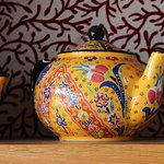 Booktique carries a beautiful range of teapots and other giftware for the discerning tea drinker