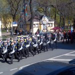 Part of the Military Parade on 9 May to celebrate the Great Patriotic War (World War II)