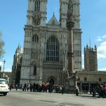Another stop on our tour - Westminster Abbey