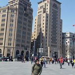 Western style buildings along The Bund!