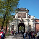 Entrance Gate to the Peter and Paul Fortress