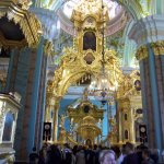 Interior of the Saints Peter and Paul Cathedral