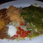 chile verde platter