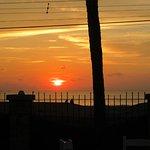 Sunset at Tiki's