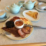 A full breakfast including Tea / Coffee and Toast £8.25