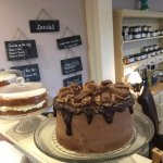 Selection of cakes in our tearoom