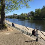 River Dee on a sunny day