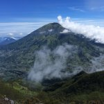 Mount Merbabu, a breathtaking view that i can catch from here.