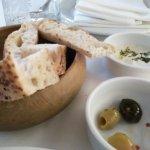 Tas Pide - Free Bread & Olives with Yoghurt Dip