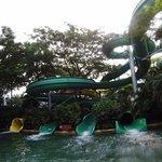 some water slides