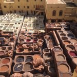 View of the tanneries