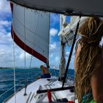 downwind back to Christiansted