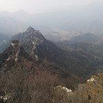 A view hiking up to Jiankou